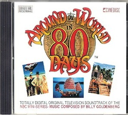 "CD case of the soundtrack of ""Around the World in 80 Days"""